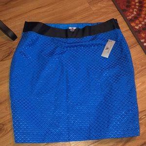 Plus size mermaid looking skirt